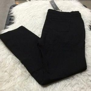 Active USA black skinny stretch pants